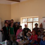 Condortrekkers at Chaunaca&#039;s school