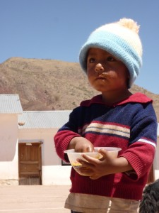 Child from Chaunaca