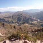 View over Chaunaca